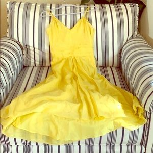 Beautiful in Yellow. Strapped, sweet, sexy and fun